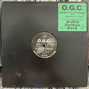 "O.G.C. ORIGINOO GUNN CLAPPAZ + HAVOC - BOUNCE TO THE OUNCE / SUSPECT (12"")  1999"