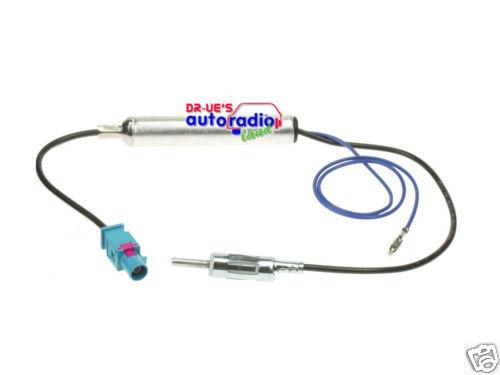 Z activo ~ = antenas adaptador adecuado para audi din FAKRA