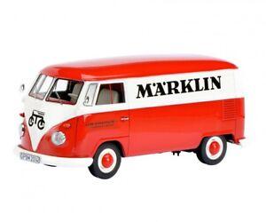 Schuco-resine-coche-modelo-1-32-Volkswagen-VW-t1-coche-recuadro-Marklin-rojo-Weiss