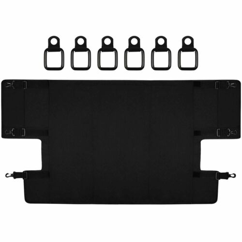 Cargo Cover Foldable Rear Trunk Organizer Shade for Jeep Wrangler JL 2018 2019