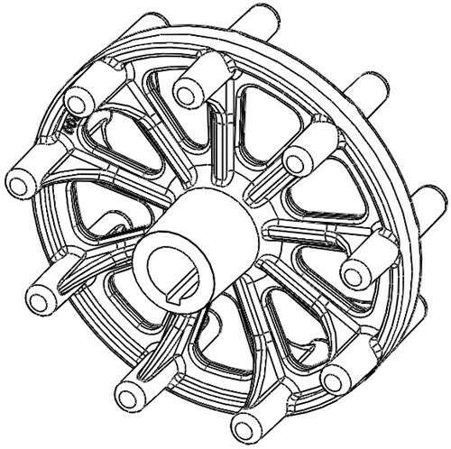 Genuine Oem Ariens Sno Thro Wheel Drive Track