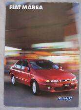 1999 Fiat Marea (Italian) Brochure Pub.No. 02.2.3201.02
