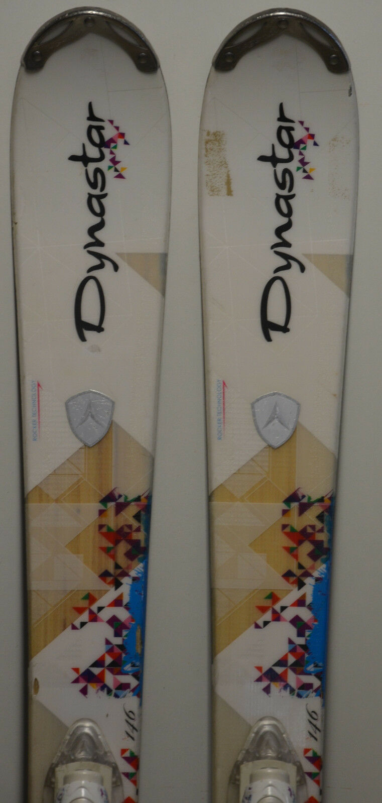 Esquís parabólico usado DYNAEstrella Exclusive Idyll - 146cm