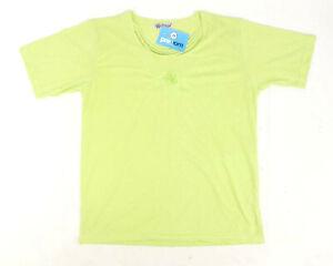 ROMESA-femme-taille-M-en-coton-melange-Vert-T-Shirt-Regular