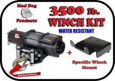 3500lb Mad Dog Winch Mount Combo Arctic Cat 05-17 400 450i 500 500i 550 650 700