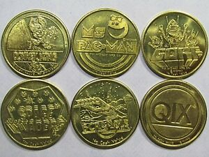 GORF game token from the 1982 World/'s Fair Video Expo