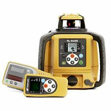 New Topcon Rl Sv2s Dual Slope Self Leveling Rotary Laser Level Package