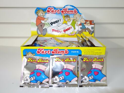 Fart Bombs 72 Fart Bags in a Display