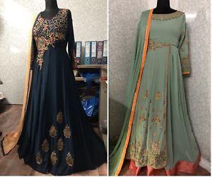 Dynamique Kameez Salwar Anarkali Suit Indian Designer Pakistani Robe Shalwar Sc Nouveau Prêt-afficher Le Titre D'origine
