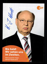 Hans Joachim Heist ZDF Autogrammkarte Original Signiert # BC 64574