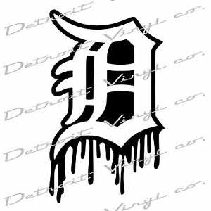 Old English D Car Decal