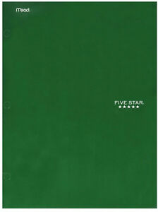 Mead-Five-Star-4-Pocket-Paper-Folder-Durable-Laminate-Conversion-amp-Other-Tables