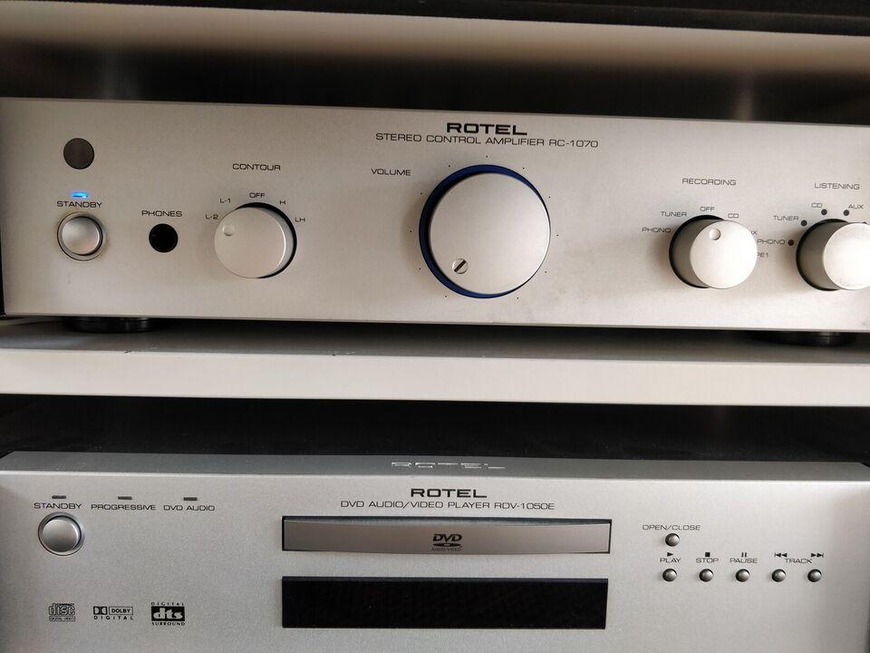 Stereoanlæg , Rotel, RC1070 pre-amp