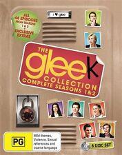 Glee Series Season 1 & 2 + Limited Tin Locker : NEW Blu-Ray