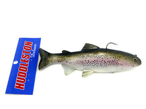HUDDLESTON-DELUXE-8-034-RAINBOW-TROUT-SWIMBAITS-ROF-0-5-12-16-SELECT-COLOR-ROF