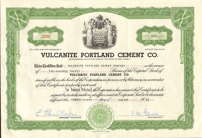 West End Cigar Company /> Newark New Jersey stock certificate share