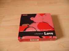 3 CD Box In the name of love: Human League Marillion Tears for Fears Level 42