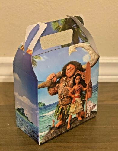 10ct Moana Party Favor Candy//Treat Boxes Loot Bag Goody Treat Bag
