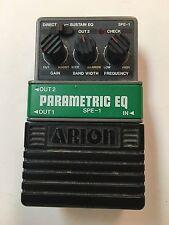 Arion SPE-1 Parametric Equalizer EQ Rare Vintage Guitar Effect Pedal MIJ Japan