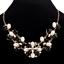 Fashion-Women-Rhinestone-Crystal-Choker-Bib-Statement-Pendant-Necklace-Chain-Set thumbnail 13