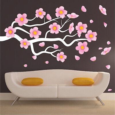 S29 Bonsai Tree Wall Decal Mural Plant Wall Vinyl Realistic Trees Wall Art
