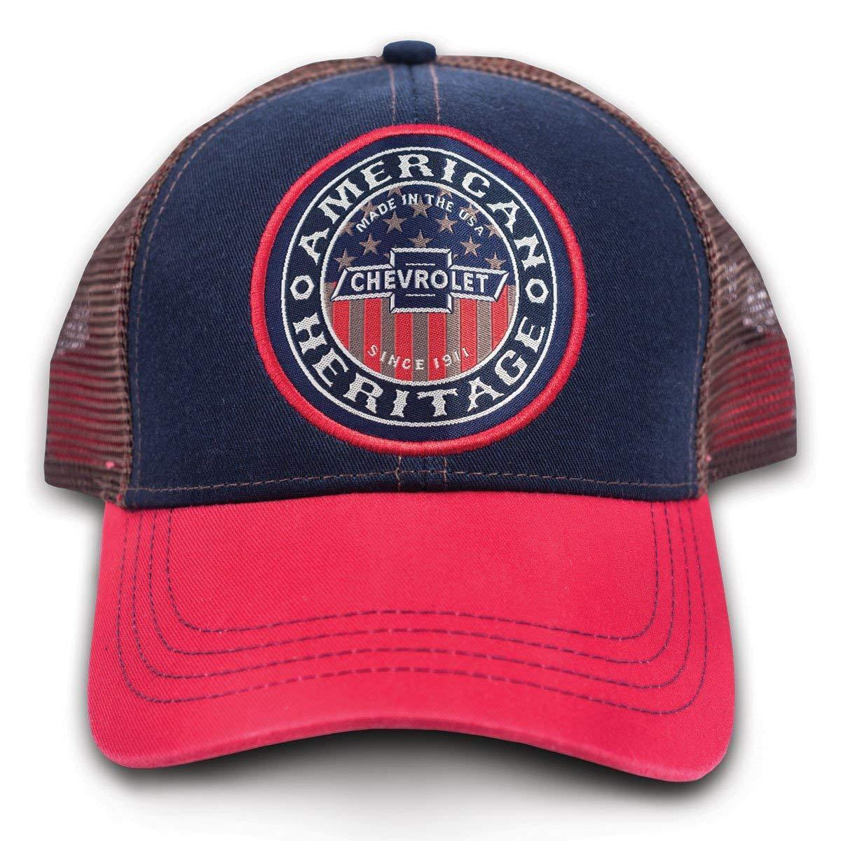 60ced0869282ae ... order chevy chevrolet baseball american usa grit heritage baseball  chevrolet mesh trucker cap hat 9114 a0c69b