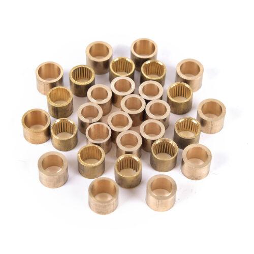 10x Billiards Snooker Brass Ferrule Snooker Pool Cue Ferrule Cue Repair Tool EL
