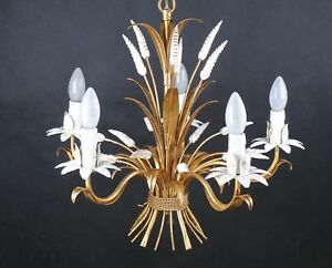 Original florentiner lampe hängelampe mid century design: hans