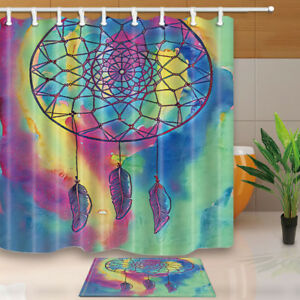 Image Is Loading Color Dream Catcher Shower Curtain Bathroom Decor Fabric