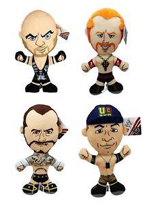 WWE-17-034-Brawlin-Buddies-Plush-John-Cena-Ryback-CM-Punk-etc-Wrestling-Buddies