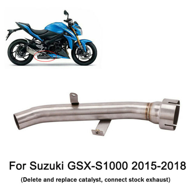 For Suzuki GSX-S1000 2015-2018 Motorcycle Exhaust Mid Link Pipe Connect Section