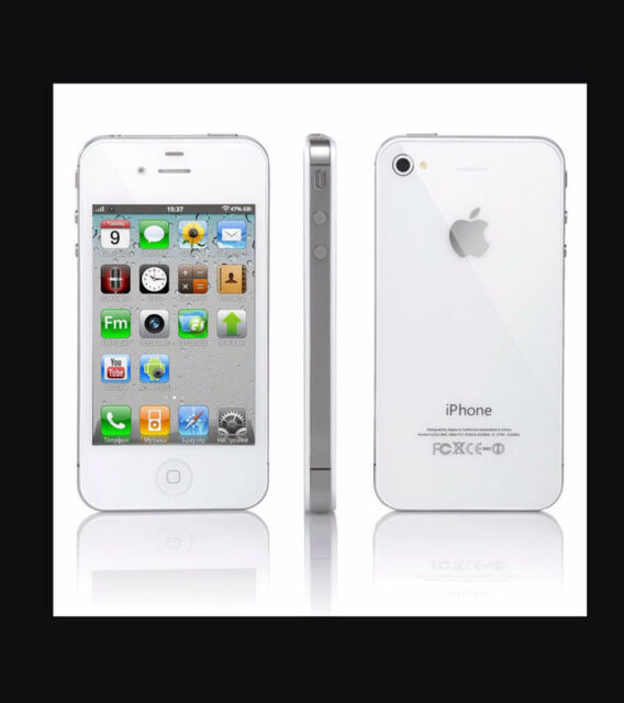 W2- Apple iPhone 4s - 16GB - White (Unlocked) A1387 New Factory Sealed Box