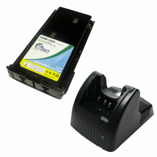 Battery /& Charger for Kenwood KNB-15A TK-3107 TK-388G TK-260 TK-3100