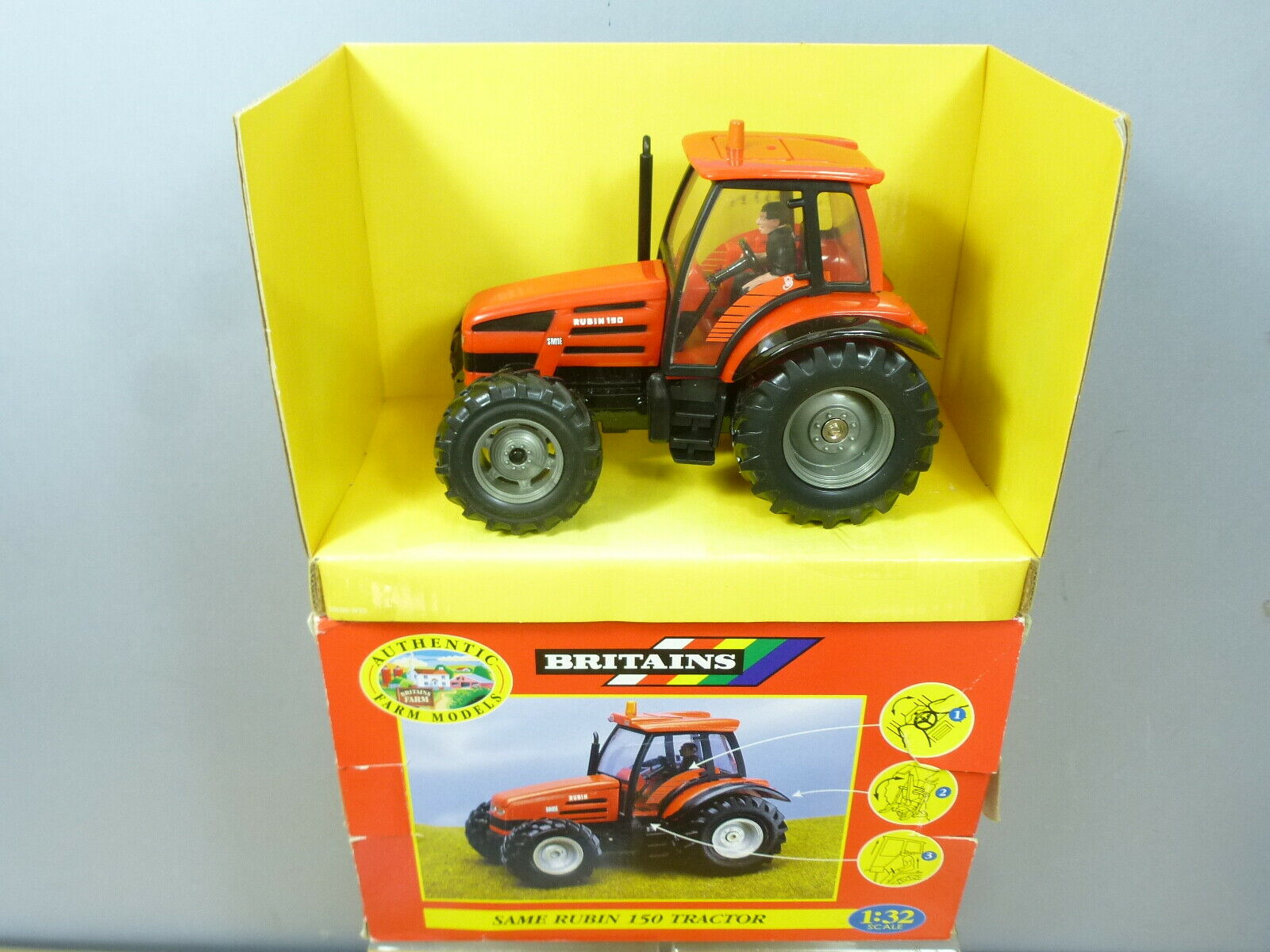 BRITAINS  MODEL No.00036  SAME RUBIN  150 TRACTOR      VN   MIB