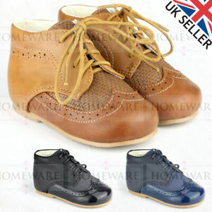 BABY BOYS SPANISH STYLE BOOTS PATENT