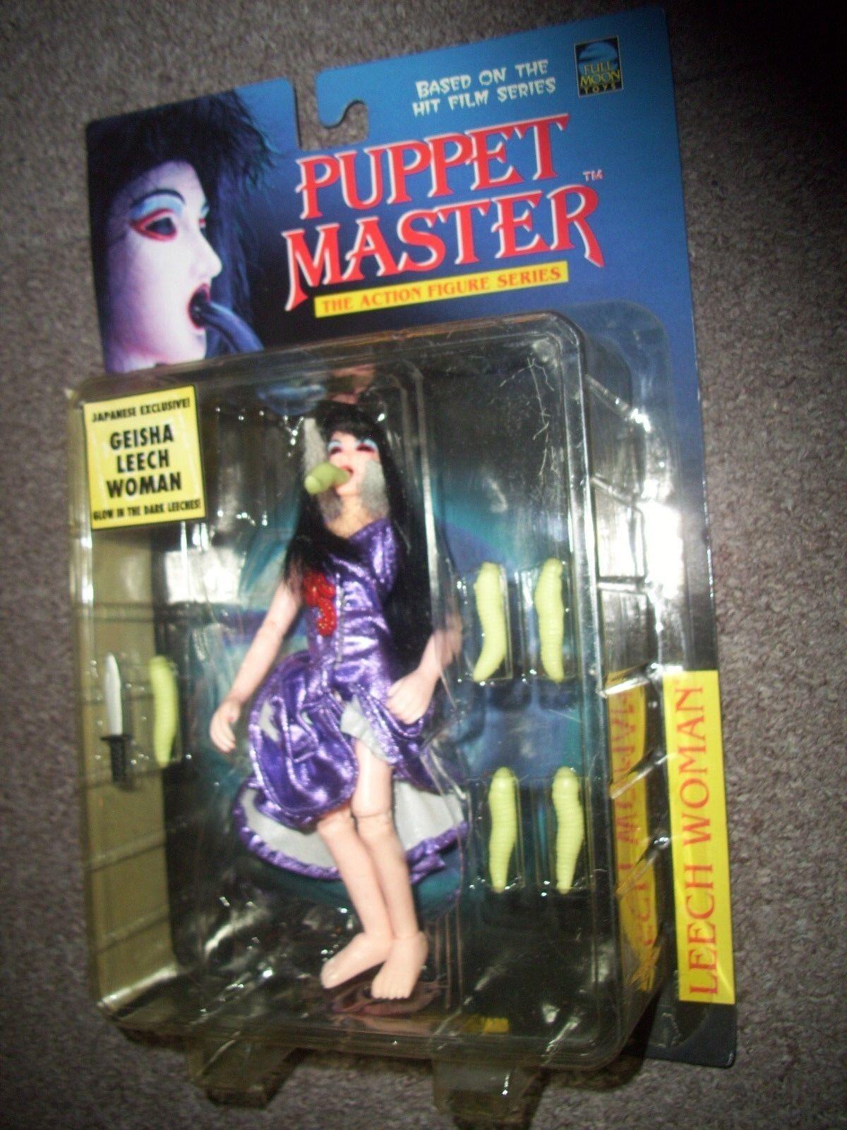 Puppet Master LEECH Damenschuhe Figure Full Moon Toys still sealed