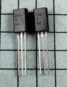 2SB647A-amp-2SD667A-B647A-D667A-5-pair-per-Lot