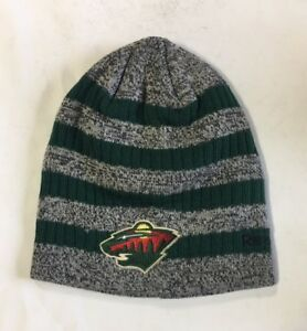 7fa07799d62 Minnesota Wild Knit Beanie Toque Winter Hat Cap NHL New Primary ...