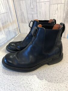 7 Timberland noires bottines pour Sz 5 hommes en cuir rrqABw10