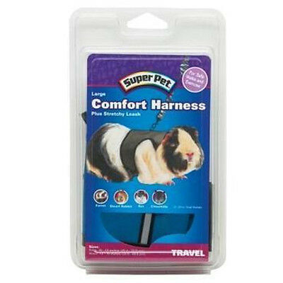 SUPER PET Nylon Comfort Harness plus Stretchy Leash for Small Animal Travel Walk