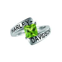 Harley-davidson® August Birthstone Ring - Peridot - Size 9 D4j8831