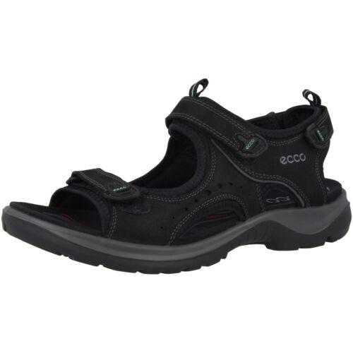 Ecco TERRAIN une II Ladies Femmes Trekking Sandale Chaussures Black 822043-02001