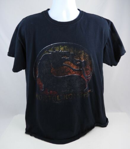 Vintage 1990's Mortal Kombat Faded Distressed Men'