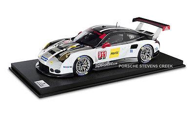 Porsche 911 RSR #4 Model 1:8 Scale Race Car Collector's Detailed Model Car