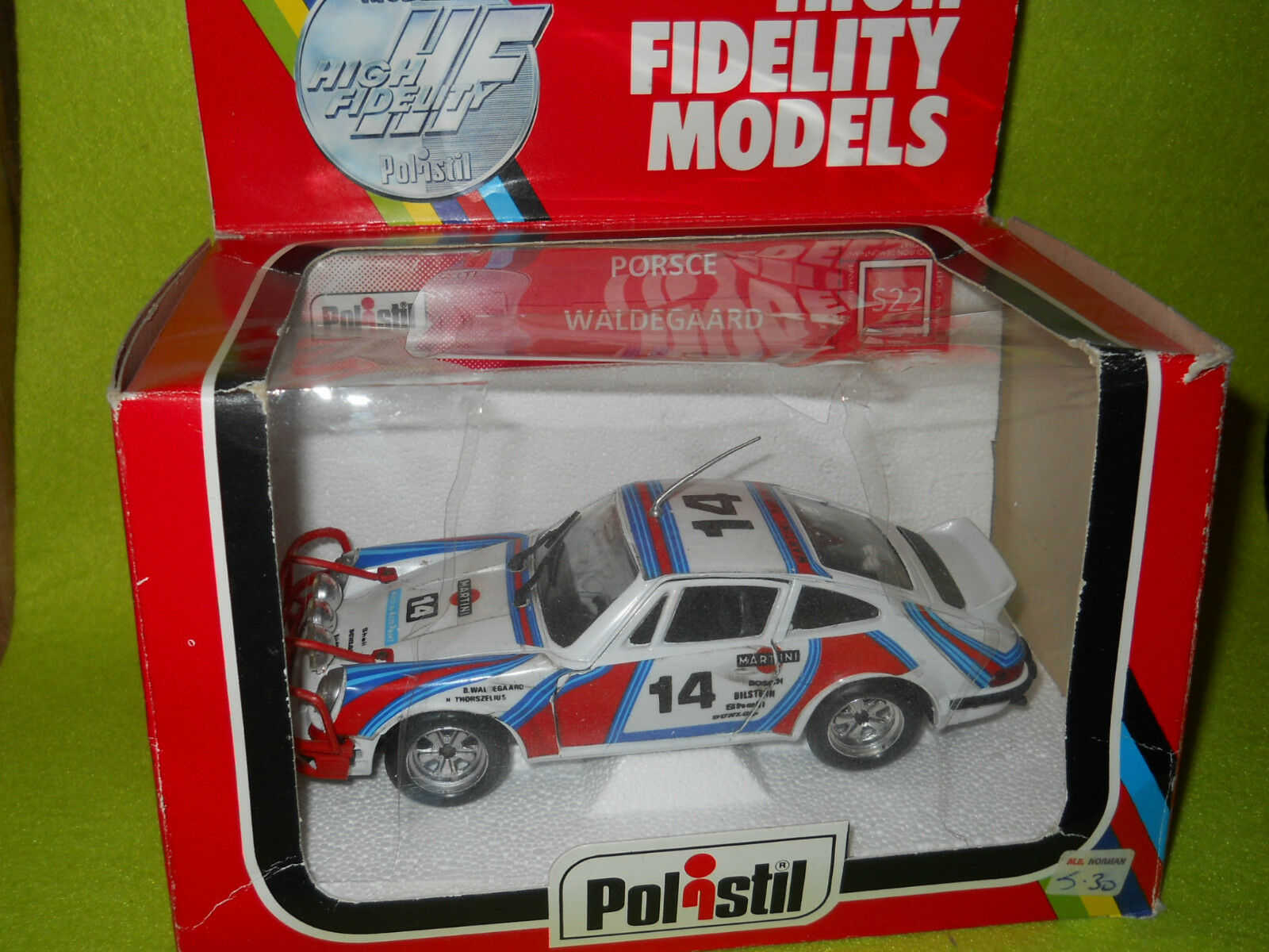 Porsche 911 Waldegaard Martini  Polistil 1/25
