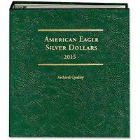 Littleton Coin Album Lca79 American Silver Eagle 2015-date Archival Quality