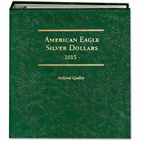 Littleton Coin Album Lca79 American Silver Eagle 2015-date Archival Quality