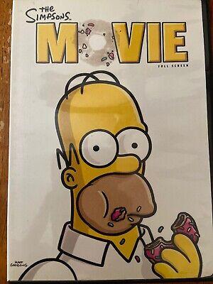 The Simpsons Movie Full Screen Edition Dvd Mike Dirnt Tre Cool Billie Joe A 24543484387 Ebay