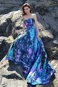 New Bohemian Beach Wedding Dress Silk Corset