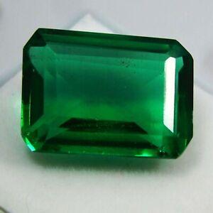 12-95-Kt-Hervorragend-Gruen-Chatam-Smaragd-A-Qualitaet-Wertvoll-Lose-Edelstein